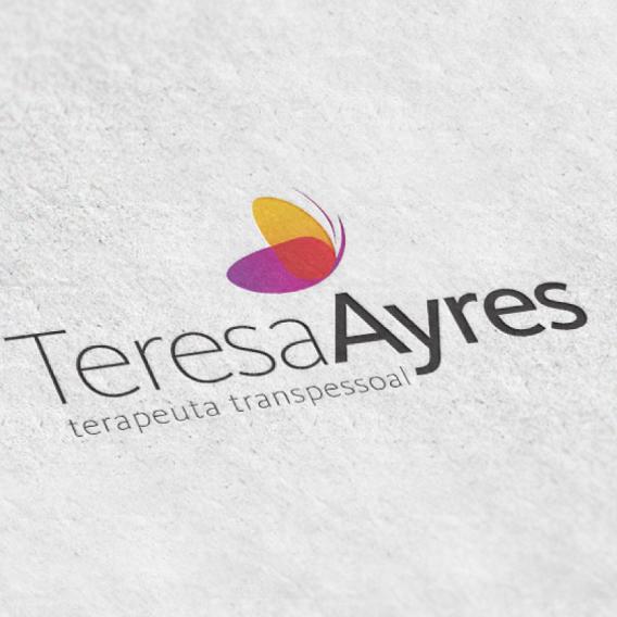 Criação de marca para Teresa Ayres